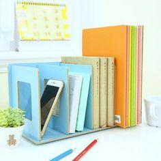 Wooden Book/ Magazine Holder