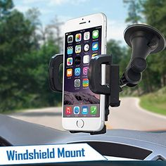 Churchill Factory Universal Car Air Vent Hands Free Cell Phone and Mini Tablet Holder Churchill MFG Magnetic Mount