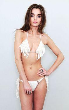 anna kosturova summer tassel bikini