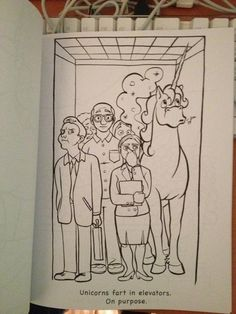 unicorns are jerks 1355803690 - Unicorns Are Jerks Coloring Book