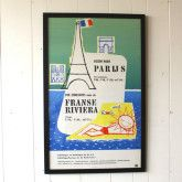 Framed Vintage Poster by Abel, 1957 (62x100cm) $490  available at www.grandfathersaxe.com.au