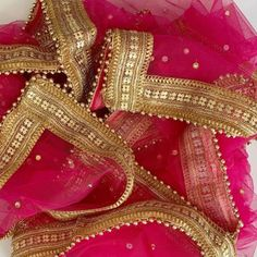 Dupattas to brighten your Life – Page 2 – anokherang Bridal Dupatta, Indian Bridal Lehenga, Heavy Dupatta, Finger Henna Designs, Dress Indian Style, Indian Wear, Reception Gown, Red Shawl, Kurti Designs Party Wear