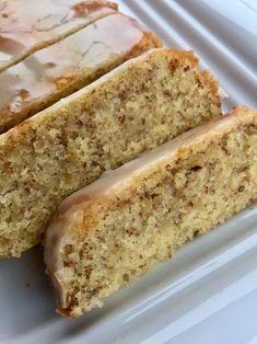 Mandel – Zitronenkuchen mit Zitronenguss ohne Mehl, schneller Kuchen für alle Tage