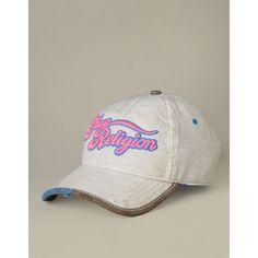 True Religion Brand Jeans Tr Script Hat ($85)