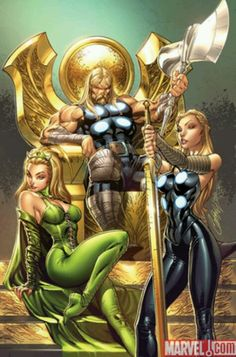 Amora the enchantress chesare thor the rule