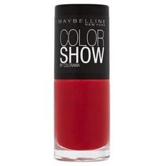 Maybelline Colour Show in Candy Apple Maybelline Nail Polish, Red Nail Polish, Red Nails, Dark Brown Eyes, Dark Skin, Indian Skin Tone, Olive Skin, Candy Apples, Color Show