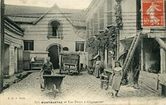 Une ferme à Clignancourt