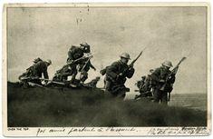 WWI, 1916, Somme, Canadian soldiers. -La bataille de la Somme | Chemins de Mémoire - Ministère de la Défense - Ministère de la Défense