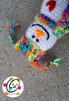 "Snowmen are my favorite. They are so happy and always warm my heart. I designed this little guy for our first ornament of the ""Countdown to Christmas Calendar"" crochet along. He would a…"
