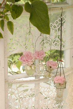 Pretty window cover