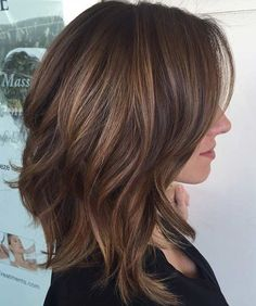 Warm Brunette Balayage