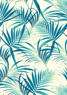 Beautiful vector palm leaf pattern - free from www.shutterstock.com