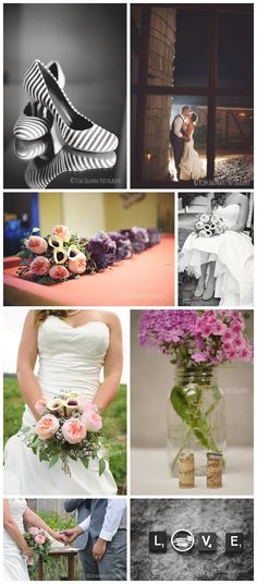 Barn chic wedding | Rustic wedding | Wedding inspiration | jessicawonders.com | Kim Hauman Photography