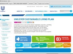 Unilever's Sustainable Living Plan is hugely impressive