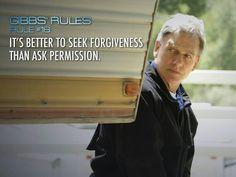 Gibbs' Rules #18