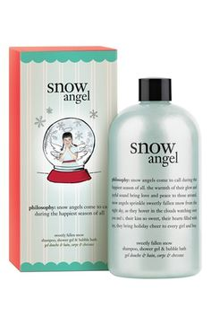 Philosophy Snow Angel bath gel... This is heavenly, bought some this weekend, it's my new favorite Philosophy product.