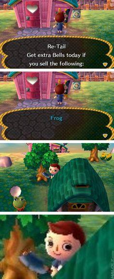 Consiguiendo bayas extra en Animal Crossing