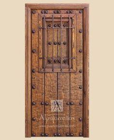 Puertas de Exterior Serie I - Gama Alcudiar - Puertas Rústicas Alpujarreñas                                                                                                                                                      Más