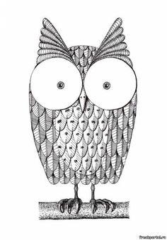 сова рисунок - Поиск в Google