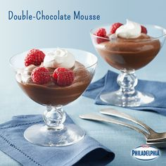 This Double-Chocolate Mousse is the star of any party. You'll wish you knew this recipe sooner!