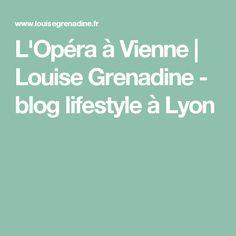 L'Opéra à Vienne         |          Louise Grenadine - blog lifestyle à Lyon