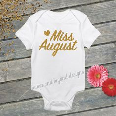Miss Birthday Girl Outfit Glitter Gold Bodysuit, First Birthday Part Shirt by BumpAndBeyondDesigns