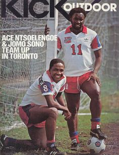 ACe Ntsoelengoe and Jomo sono Play Internally for Toronto soccer Club Messi, North American Soccer League, Soccer Logo, Everton Fc, African Men, Soccer Players, Football Shirts, Retro, Racing