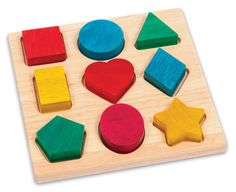 Great early learning toy, has helped my 20 month old to learn his shapes and colors - Shape and Color Sorter: http://kiddokorner.com/early-math/shape-and-color-sorter.html $24.95