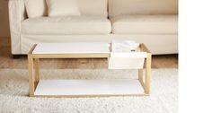 シェルフローテーブル ホワイト Designer:柳原照弘 [リンベル完全オリジナル商品] | セレクトショップ