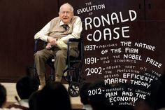 The evolution of Ronald Coase