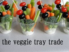 very heatherly cheap tricks for chic chicks: trade in the veggie tray . . .