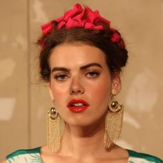 frida kahlo inspired hair - Google Search
