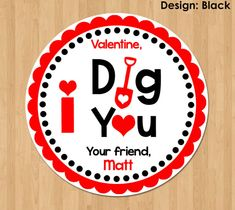 I Dig You Happy Valentines Day Adult Unisex Classic American Style Printing Adjustable Denim Cowboy Hat
