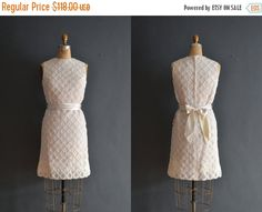 SALE  Nixie / 60s lace dress / 1960s wedding by BreanneFaouzi