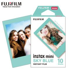 NEW 10 Sheets Fujifilm Fuji Instax Mini 8 Film sky blue Instant camera For 8 7s 7 50s 50i 90 25 dw Share SP 1 Camera Photo Paper-in Film from Consumer Electronics on Aliexpress.com | Alibaba Group