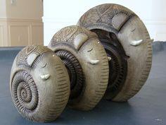 Govinder Nazran - Elephant Stone Resin Sculpture by Hidden Ridge Gallery, via Flickr