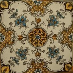 ❤ - Vintage tiles