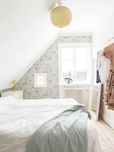 Bedroom Loft, Cozy Bedroom, Girls Bedroom, Bedroom Decor, Student Bedroom, Sweden House, Room Of One's Own, Cottage Style Decor, Country Interior