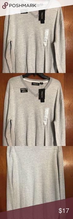 New Men s Claiborne Sz Large Thermolite Sweater Men s Claiborne Long Sleeve  Thermolite V-Neck Sweater 9cb53b83d5add