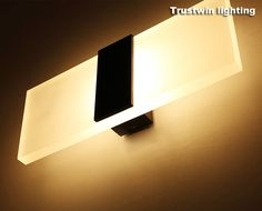 New store promotion LED wall light living sitting room foyer bedroom bathroom modern wall sconce light square LED wall lamp