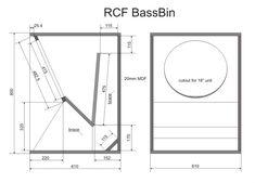 RCF Bass Bin