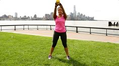 Kettlebell swings are one of the best exercises for weight loss.