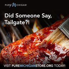It's tailgate time! Visit the Pure Michigan Online Store for all your tailgate needs.