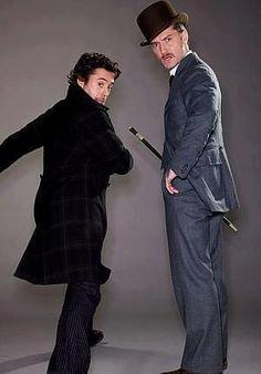 Sherlock Holmes - Robert Downey Jr & Jude Law
