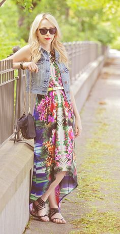 a62ce596056e0 Stylish summer outfit ft Childress Childress & Minkoff [bag] Stewart  Stewart Conley Times [dress] issues Wilke Russell-Snider Eagle Outfitters  [vest] C C C ...