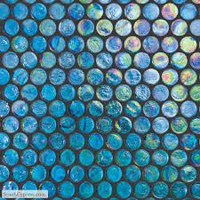 Image result for glass penny tile