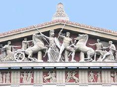 Comentario. El Partenón (447-432), de Ictino, Calícrates y Fidias .       Historia del Partenón . Documental. 7 minutos. Dirección: Costa G...