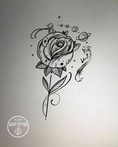 Resultado de imagem para tatuagens femininas do pequeno principe
