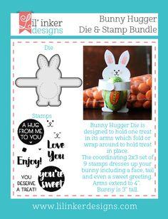 Lil' Inker Designs - Bunny Hugger Die