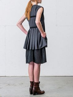 Anna Brown // Blaer tunic
